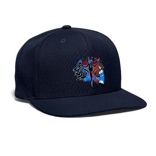 Graffitied Angel - Snapback Baseball Cap