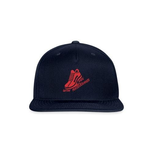 Run with perseverance - Snapback Baseball Cap