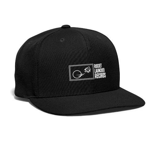 White Horizontal Logo - Snapback Baseball Cap