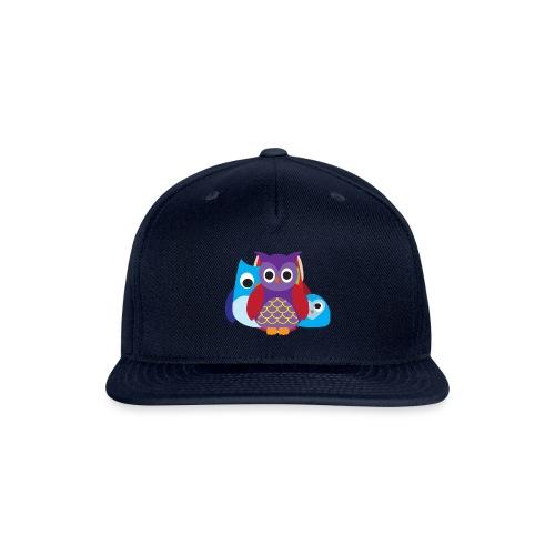 Cute Owls Eyes - Snap-back Baseball Cap
