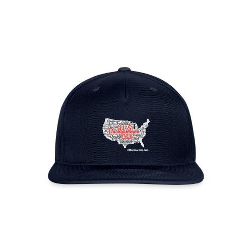 US Backgammon Club - Snapback Baseball Cap