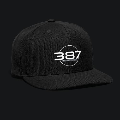 387 Entertainment White - Snapback Baseball Cap