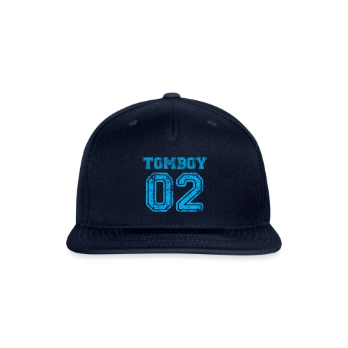 Tomboy02 png - Snap-back Baseball Cap