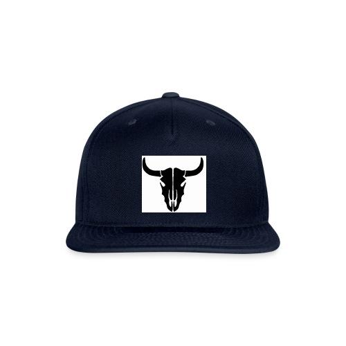 Longhorn skull - Snapback Baseball Cap