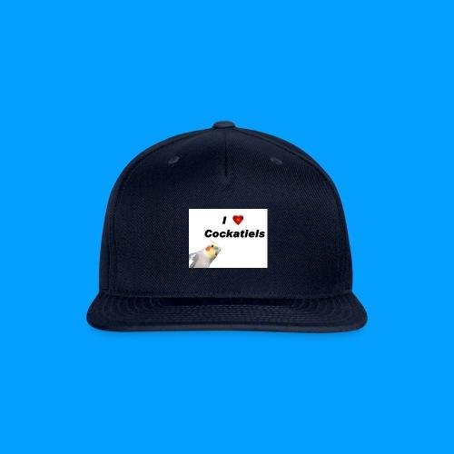 Cockatiels - Snapback Baseball Cap
