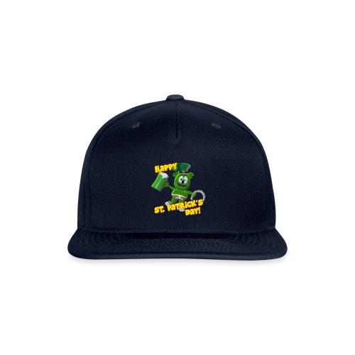 Gummibär (The Gummy Bear) Saint Patrick's Day - Snapback Baseball Cap
