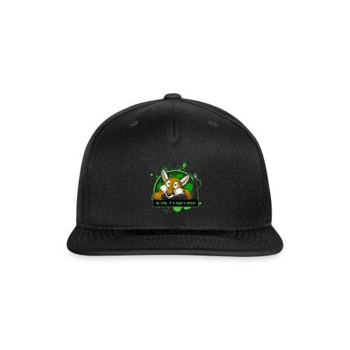 Beer-o-Clock Fox - Snapback Baseball Cap