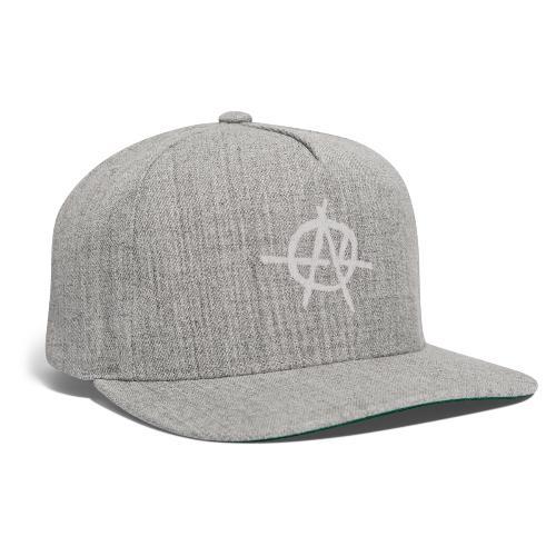 Anarchy (Grey) - Snapback Baseball Cap