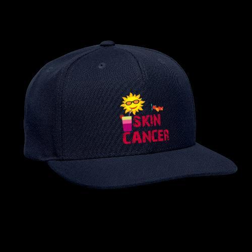 SKIN CANCER AWARENESS - Snapback Baseball Cap