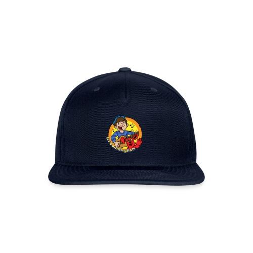 dreamenglishlogo-L - Snapback Baseball Cap