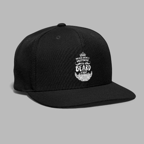 BEARD FIGHT - Snapback Baseball Cap