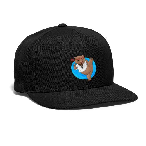 Wombat in Action - Snapback Baseball Cap