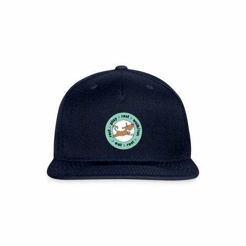 Dogs' Circle of Happiness - Snapback Baseball Cap