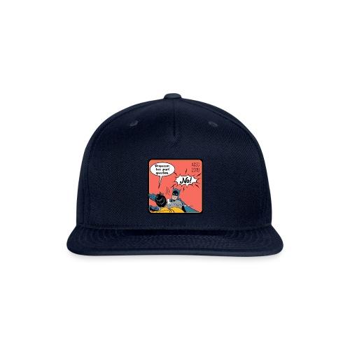 Two Part Question - Snapback Baseball Cap