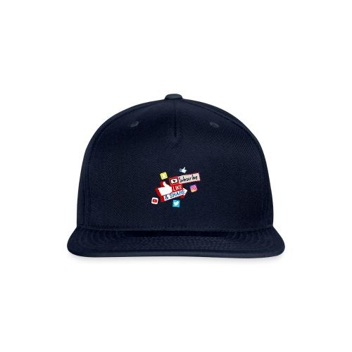 Subscribe, like & share - Snapback Baseball Cap
