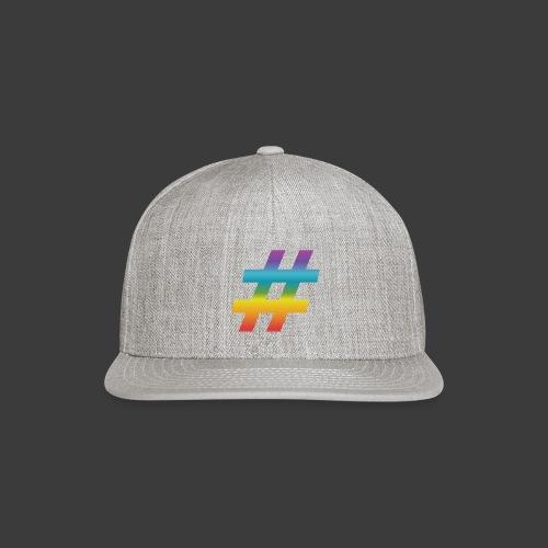 Rainbow Include Hash - Snapback Baseball Cap