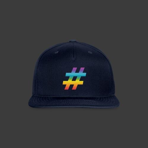 Rainbow Include Hash - Snap-back Baseball Cap
