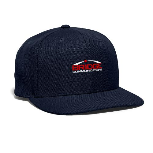 Bridge Communications Dark Logo - Snapback Baseball Cap