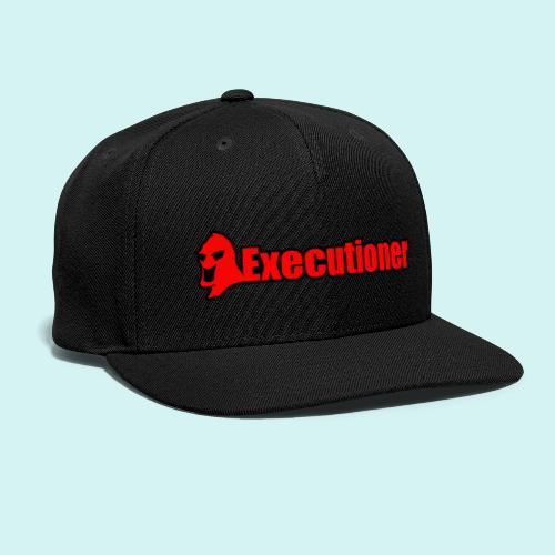 Executioner basic line logo - Snapback Baseball Cap