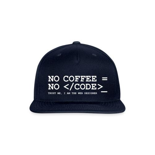 coffee - Snapback Baseball Cap