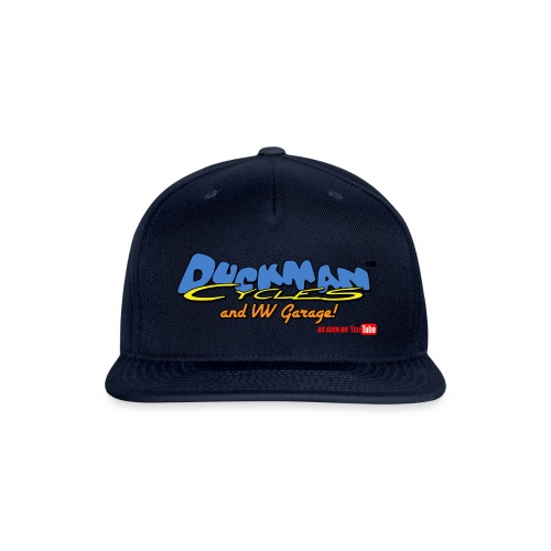 DuckmanCycles and VWGarage - Snapback Baseball Cap