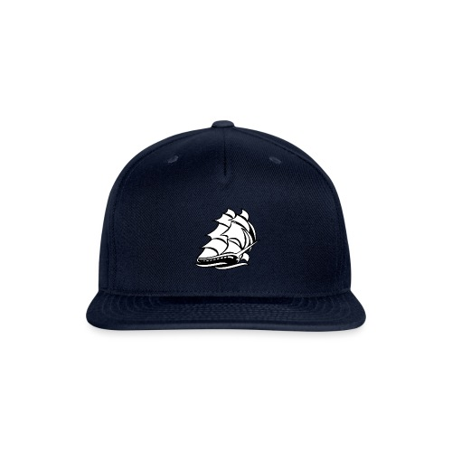 Old Tall Sailing Ship - Snapback Baseball Cap
