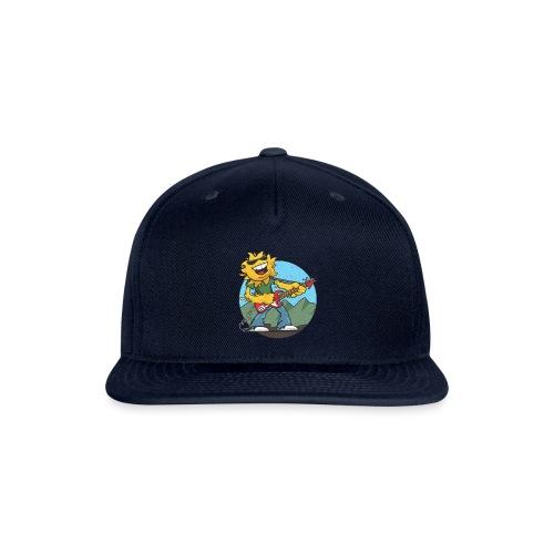 sun guitar rocker v1 t - Snapback Baseball Cap