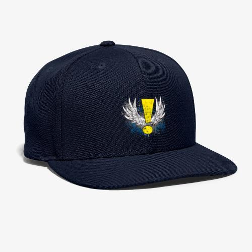 Winged Whee! Exclamation Point - Snapback Baseball Cap
