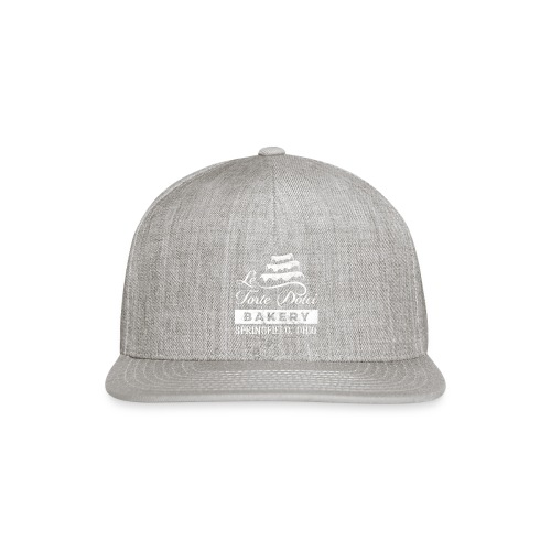 Le Torte Dolci Logo Worn White Ink Version - Snapback Baseball Cap