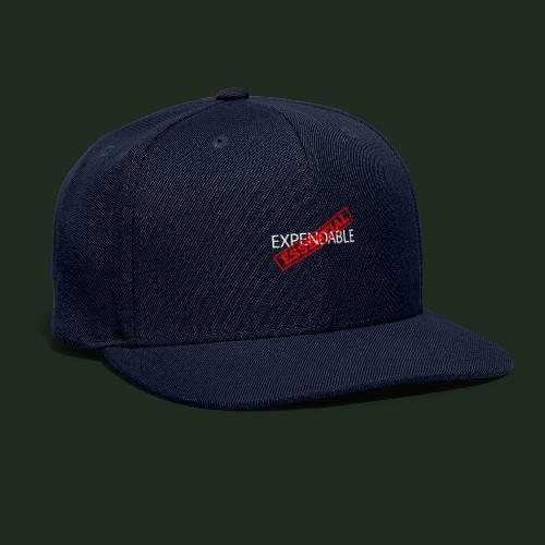 Esspendable - Snapback Baseball Cap