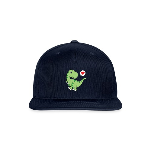 Dinosaur Love - Snapback Baseball Cap