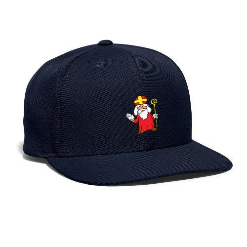 Saint Nick Smoking!? - Snapback Baseball Cap