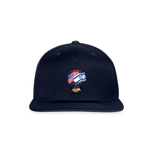 ISRAEL USA E02 - Snap-back Baseball Cap