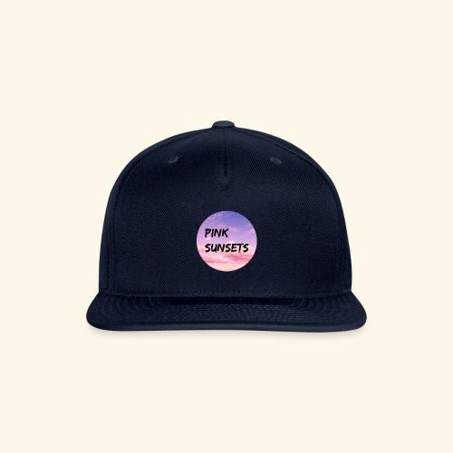 Pink Sunsets - Snap-back Baseball Cap