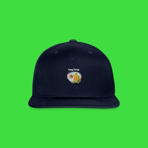 Tommy Tortoise black - Snap-back Baseball Cap