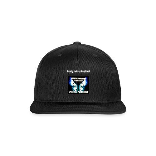 MightyWarrior PrayAnytime White - Snapback Baseball Cap