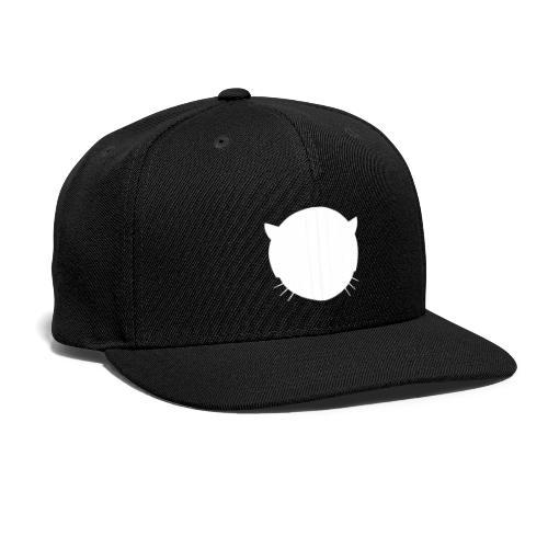 Musetta Minimal White collection - Snapback Baseball Cap