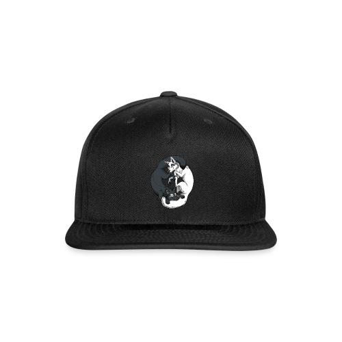 Yin Yang Foxes - Snapback Baseball Cap