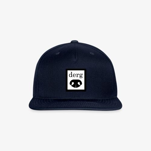 Black and white derg. - Snapback Baseball Cap