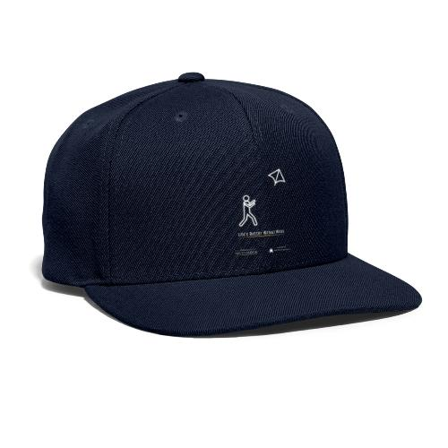Life's better without wires: Kite - SELF - Snapback Baseball Cap