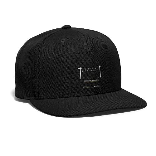 Life's better without wires: Birds - SELF - Snapback Baseball Cap