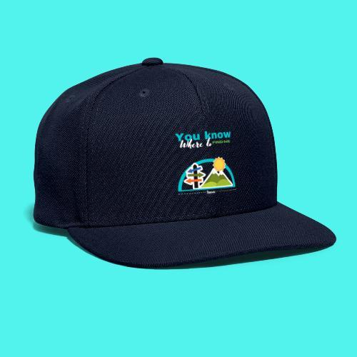 BMG- Hiking Collection - Snapback Baseball Cap