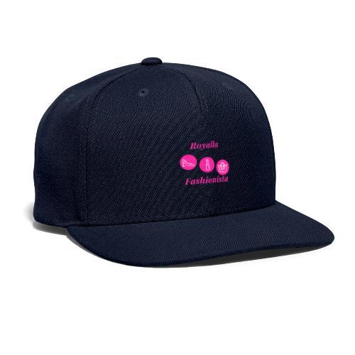 Royalla Fashionista - Snapback Baseball Cap