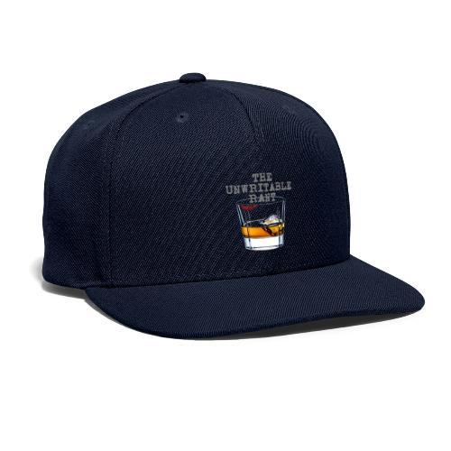 The Unwritable Rant - Snapback Baseball Cap