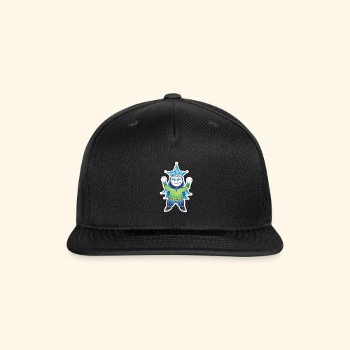 Glass Jester Full Body - Snapback Baseball Cap