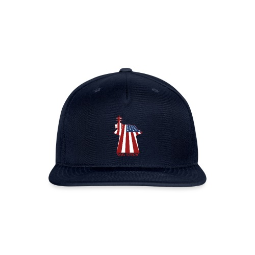 Big Stick Patriotic U.S. Aircraft Carrier - Snapback Baseball Cap