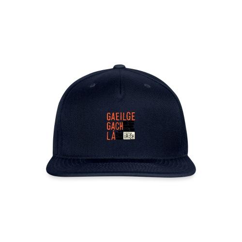 Bitesize Irish Merchandise - Snapback Baseball Cap
