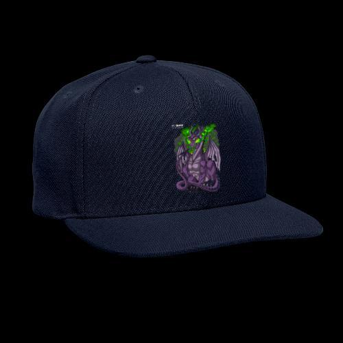 Purple Dragon - Snapback Baseball Cap