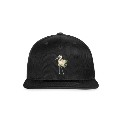 Great Blue Heron - Snapback Baseball Cap