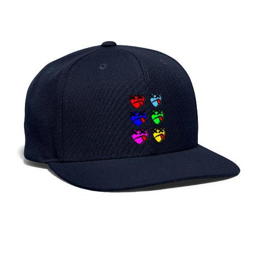 Six Of Hearts - Snapback Baseball Cap